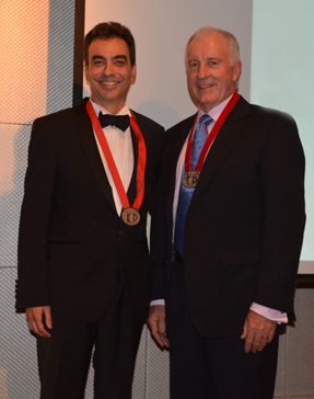 ICP 2016-2017 Presidents Mario Bresciano and Brian Fitzpatrick